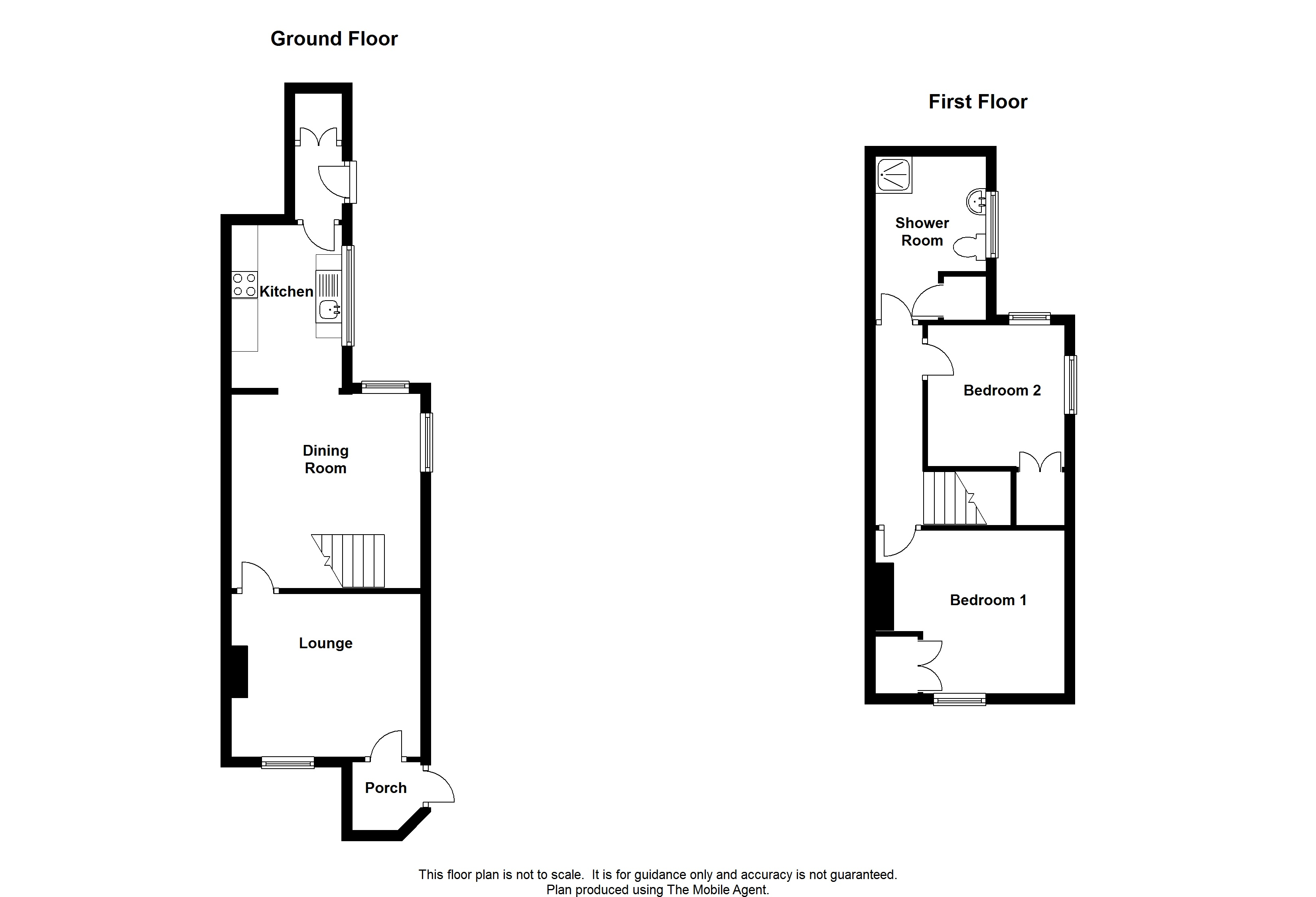 Floorplans For Station Road, Charing