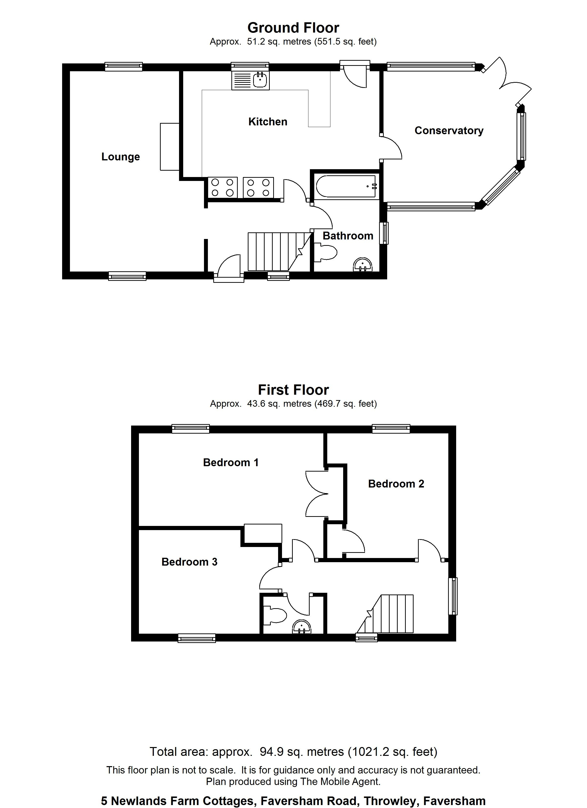Floorplans For Goodworth House, 61 Charlesford Avenue, Kingswood