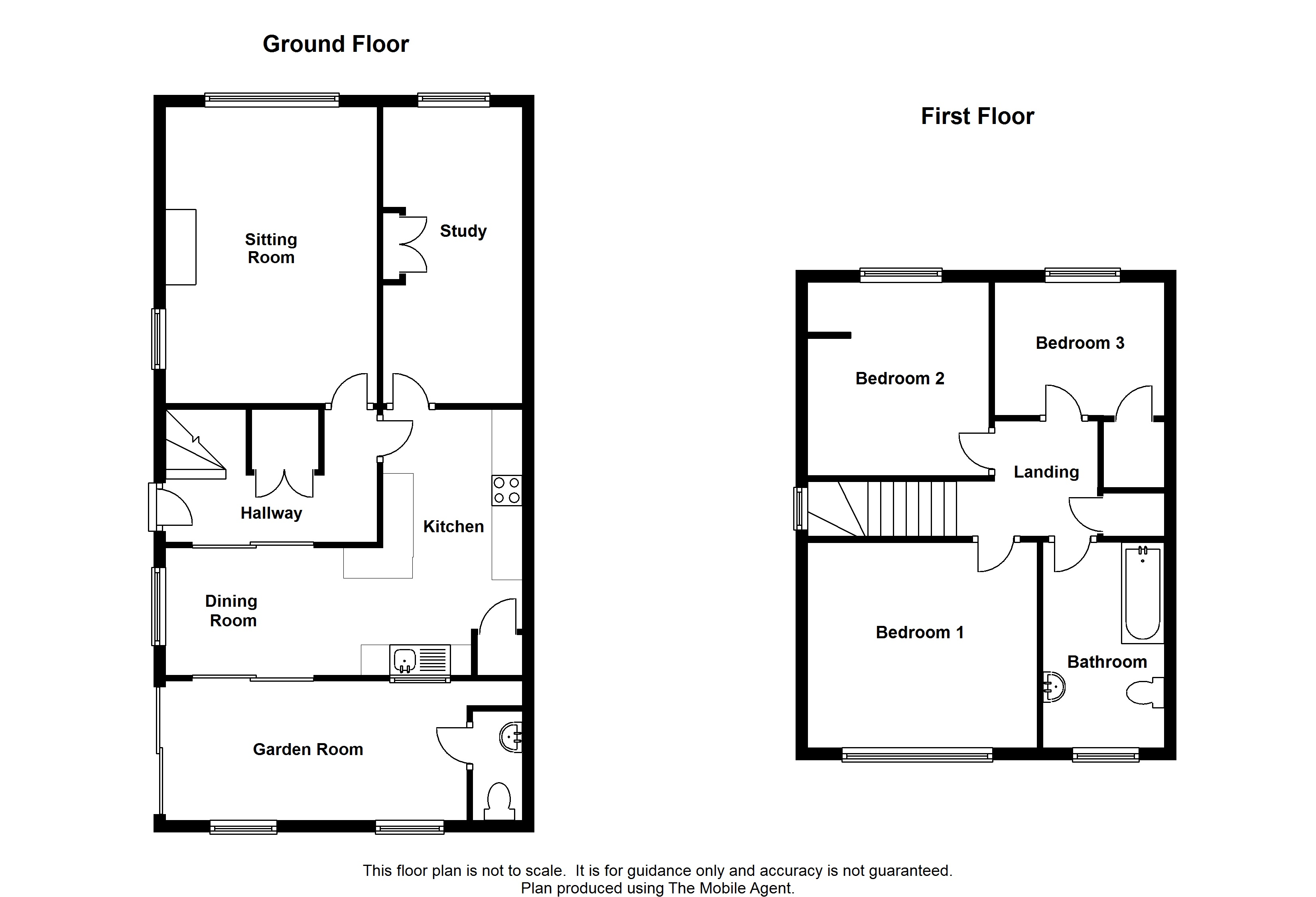 Floorplans For Haffenden Meadow, Charing