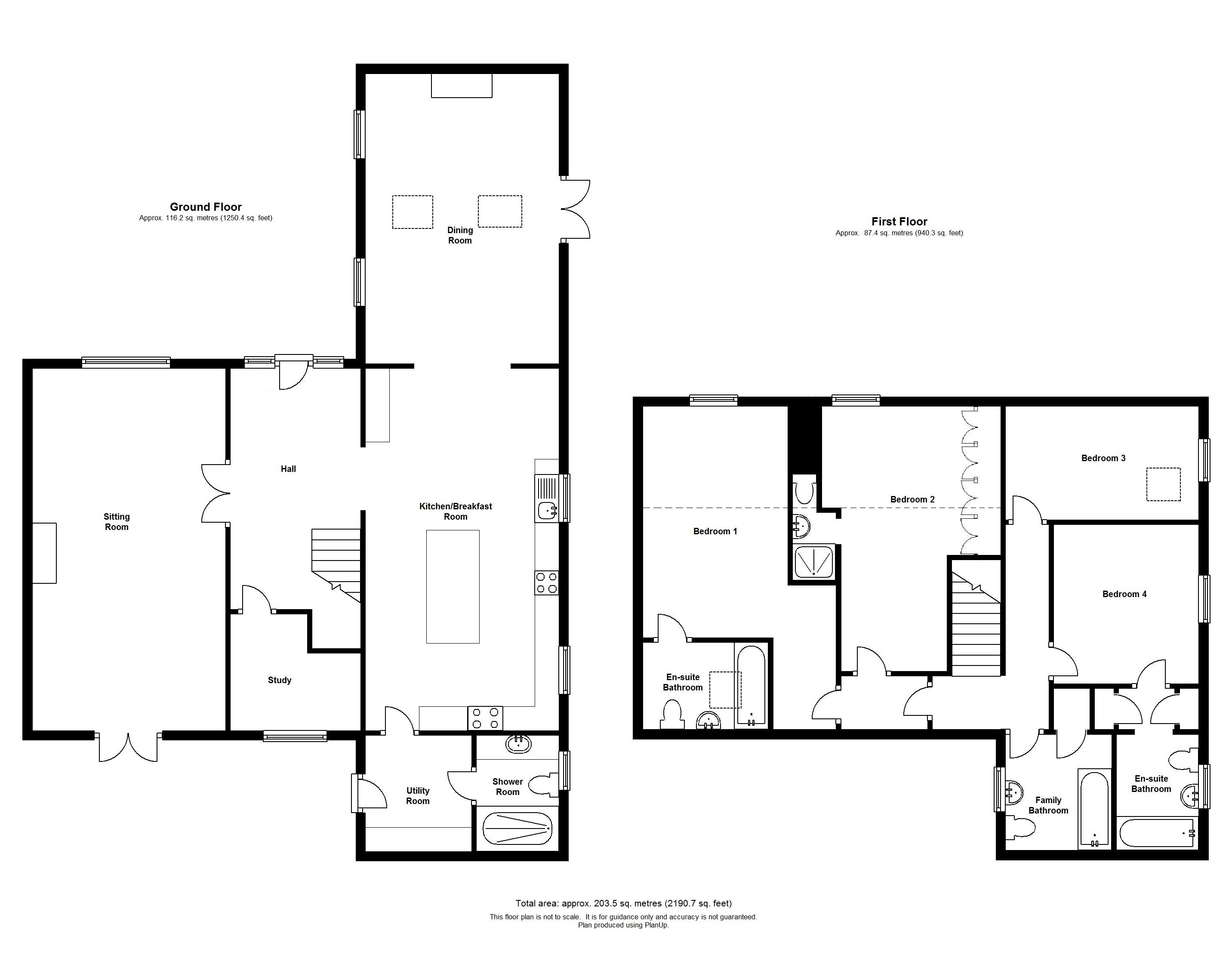 Floorplans For Calehill Gardens, Calehill Park, Little Chart