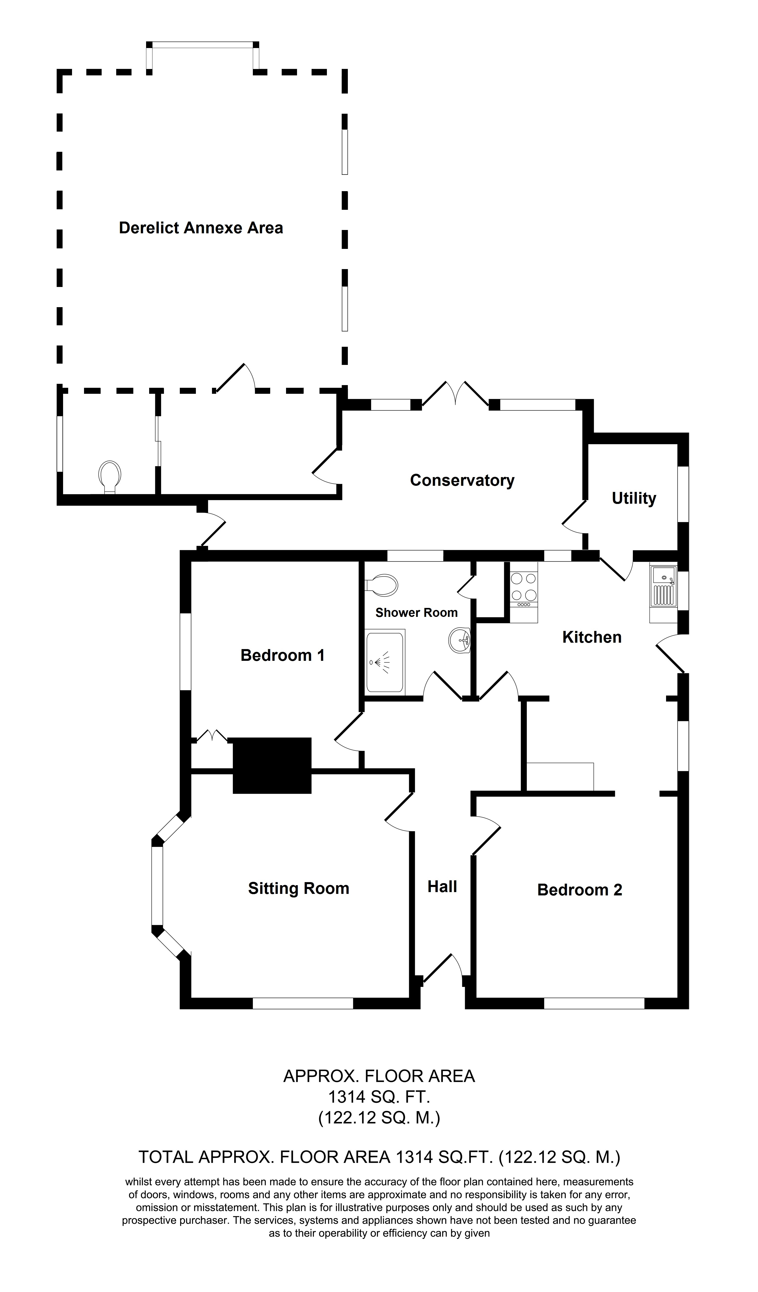 Floorplans For Stonelea, Rock Hill Road, Egerton