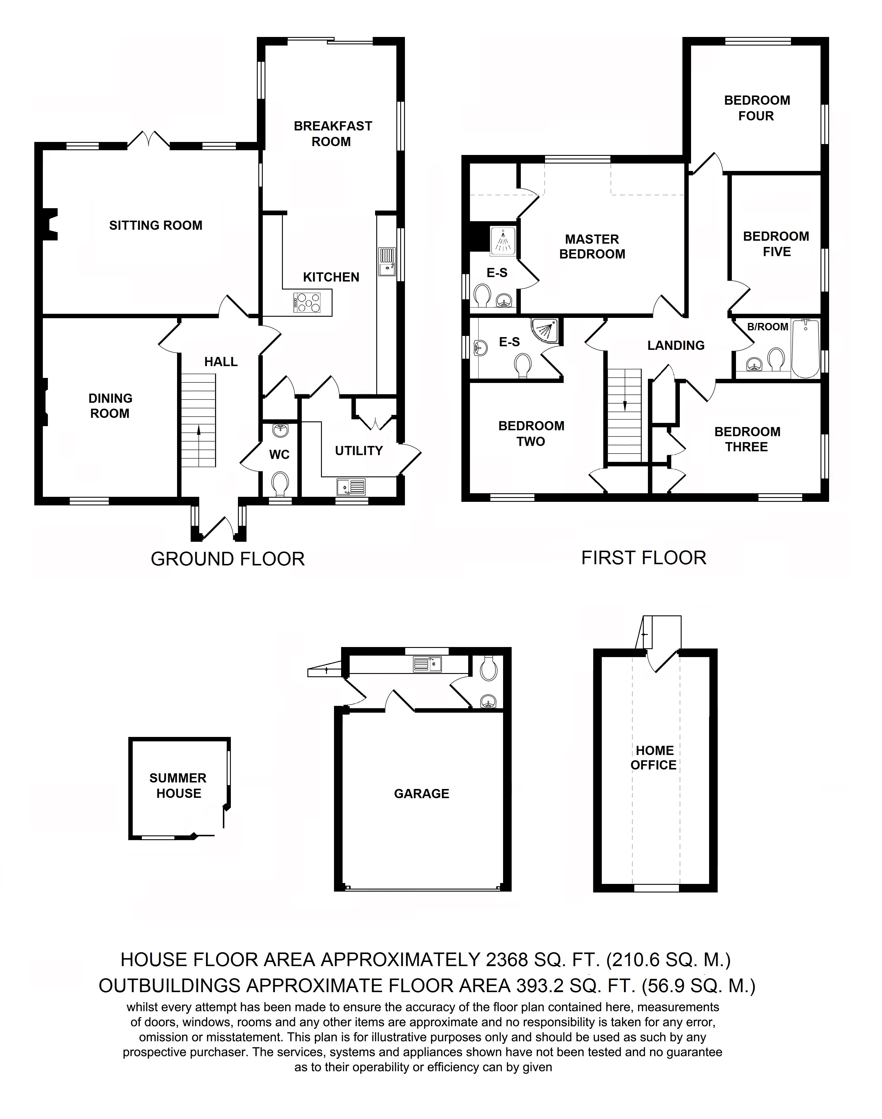 Floorplans For Thorne View, Smarden Road, Pluckley