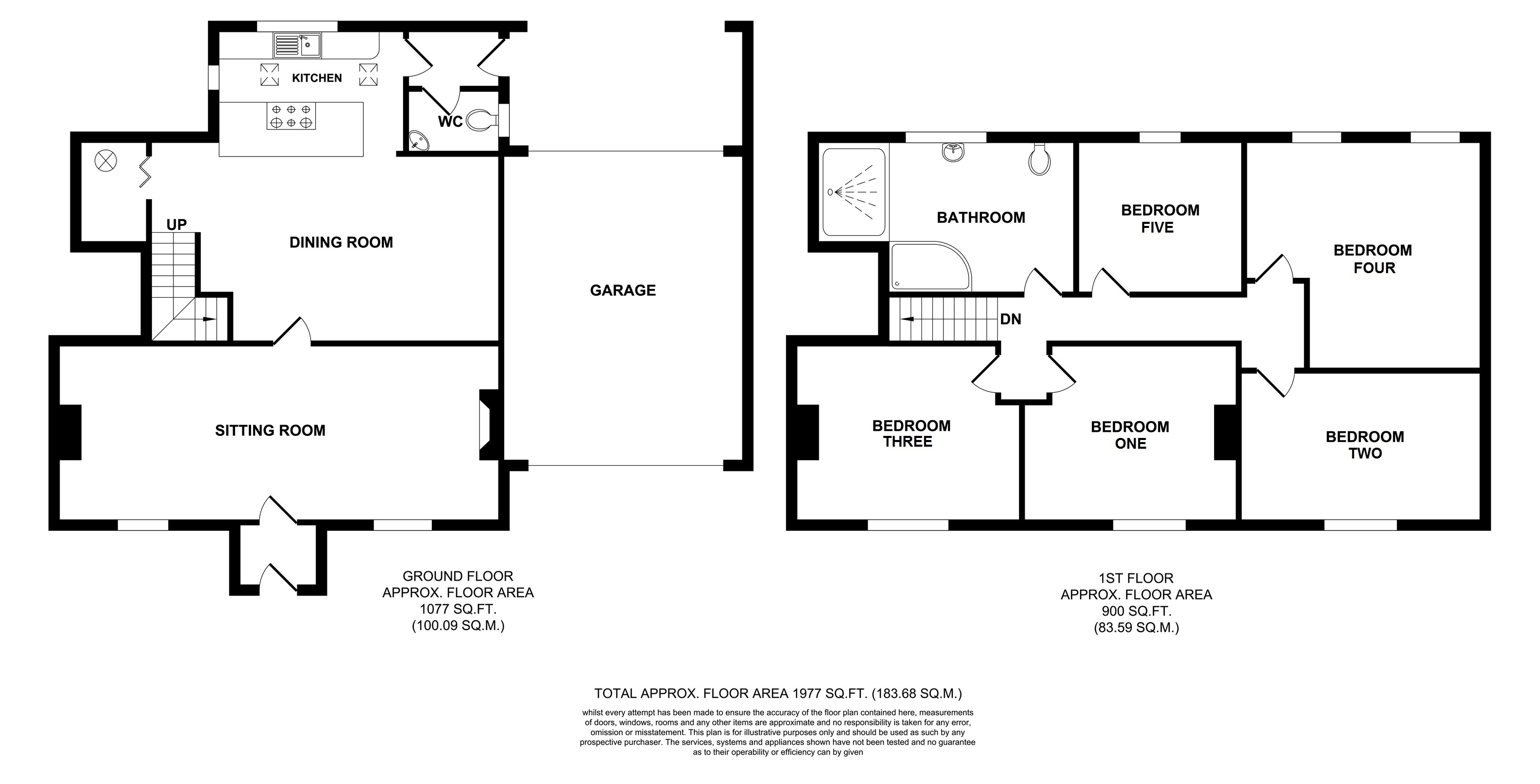 Floorplans For River House, Egerton Road, Charing Heath