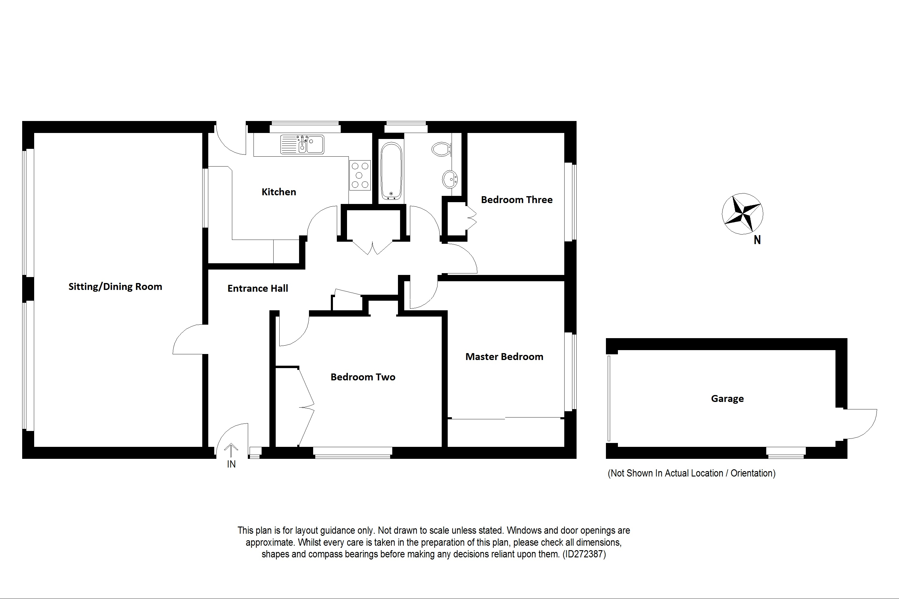 Floorplans For Osmington, Canterbury Road, Bilting