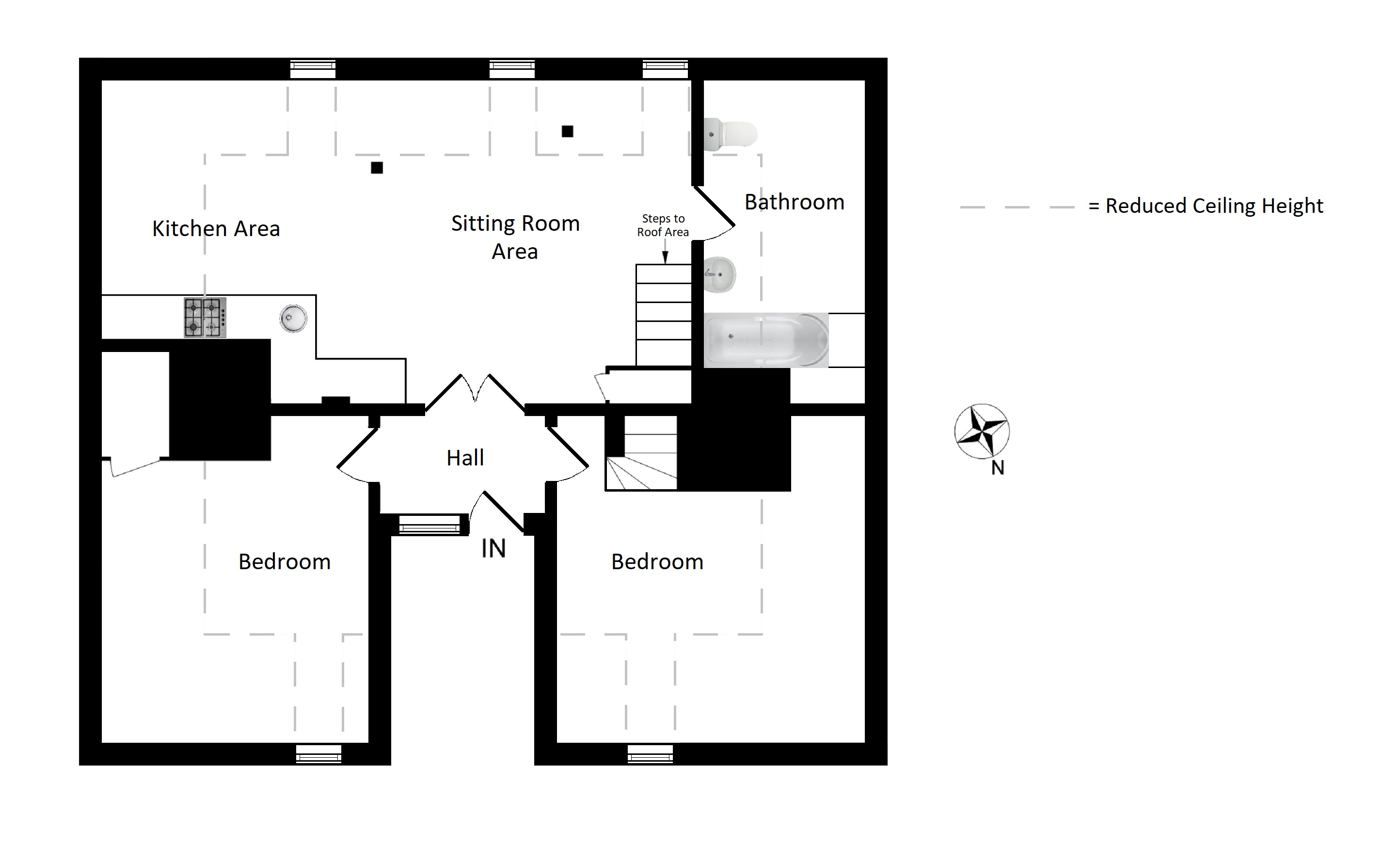 Floorplans For The Mount, London Road, Faversham