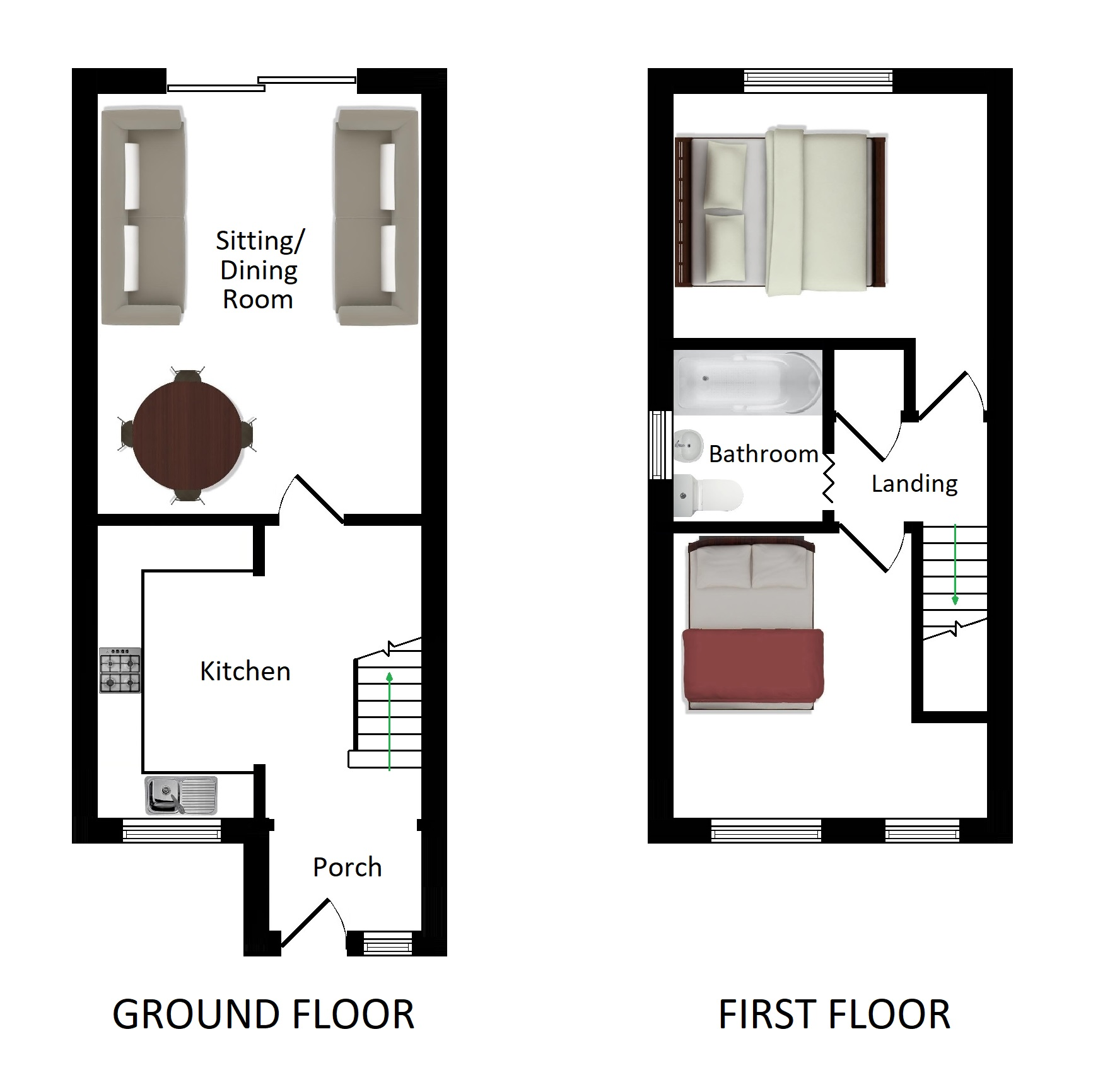 Floorplans For Brentwood, Ashford