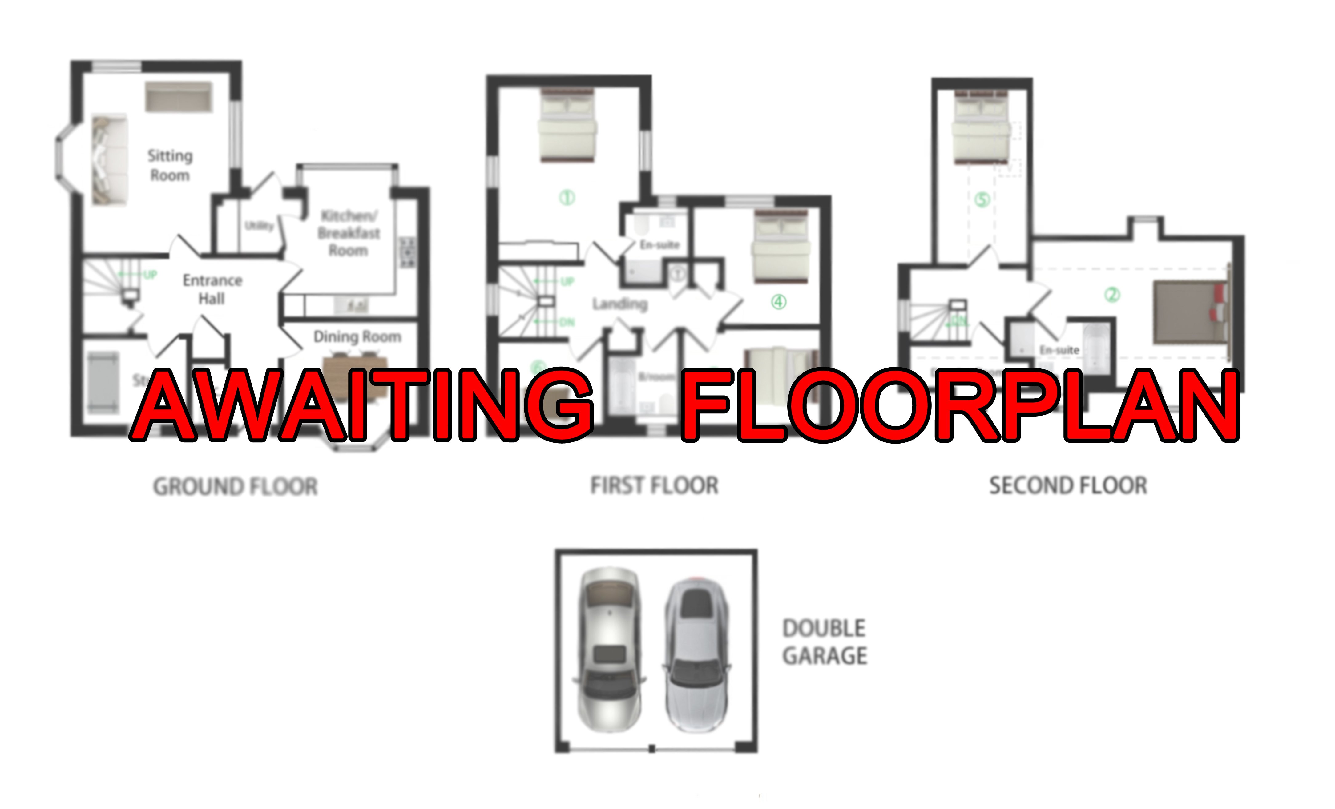 Floorplans For Fairview, Pluckley